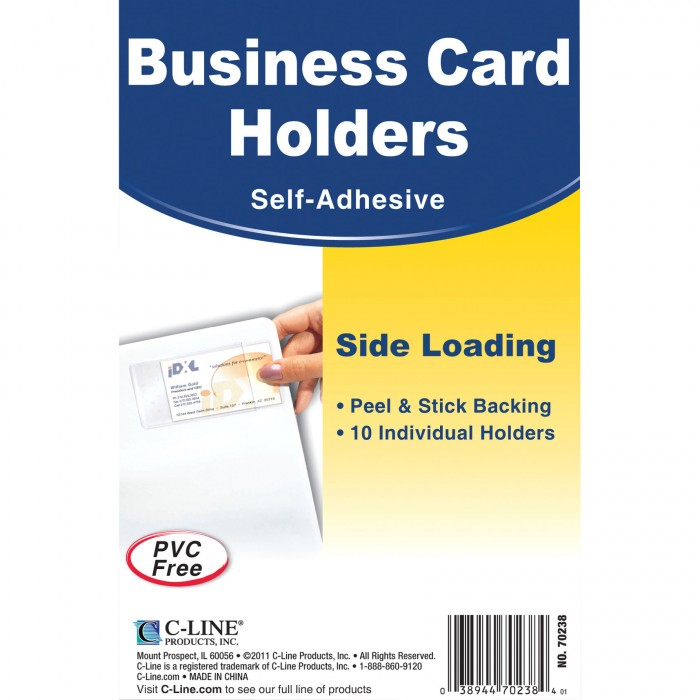 Side Load Business Card Holder - CLI70238