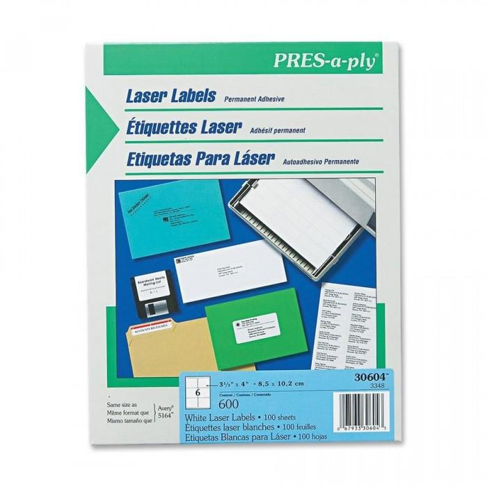 shipping label 6 per page 3 33x 4 white