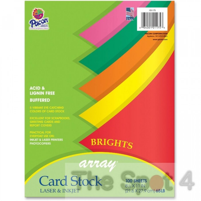 Card stock bright printable m4hsunfo